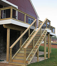 Beau Exceptional Deck Stairs Designs On Contact Us To Discuss The Design And  Construction Your Ideal Home